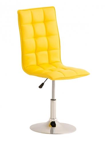 Jídelní / pracovní otočná židle Gauja, žlutá