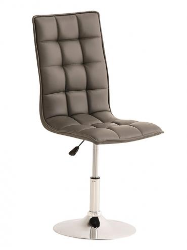 Jídelní / pracovní otočná židle Gauja, šedá