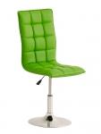 Jídelní / pracovní otočná židle Gauja, zelená