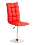 Jídelní / pracovní otočná židle Gauja, červená