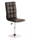 Jídelní / pracovní otočná židle Gauja, černá