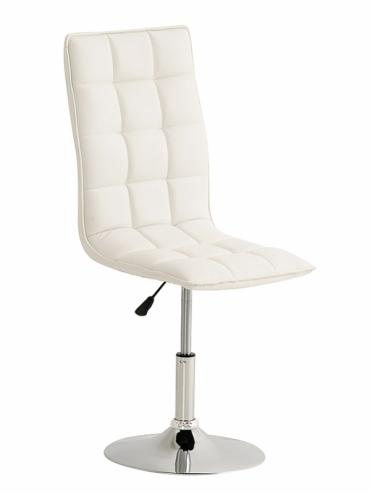 Jídelní / pracovní otočná židle Gauja, bílá
