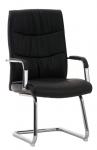 Jídelní / konferenční židle Caren, černá