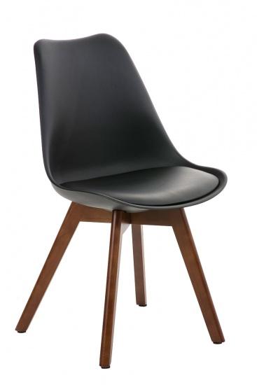 Jídelní / konferenční židle Borna podnož ořech, černá