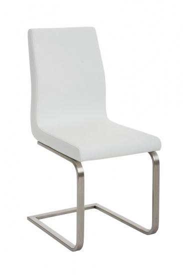 Jídelní židle Belveder, bílá