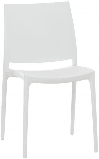 Židle MAYA, bílá