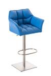 Barová židle Damaso modrá