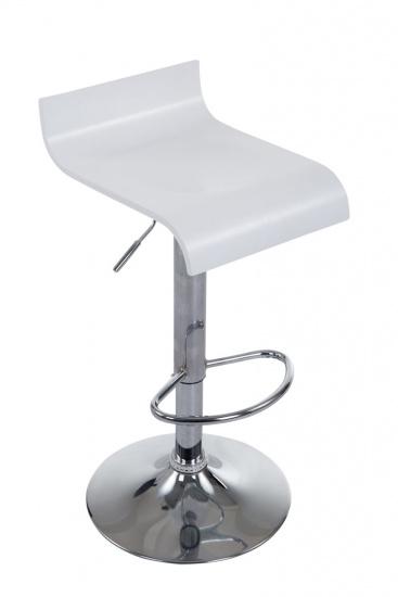 Barová židle Wood, bílá