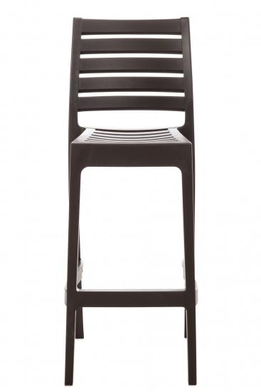 Barová židle Ares, hnědá