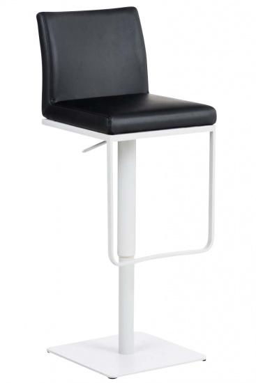 Barová židle Winnie, syntetická kůže, černá