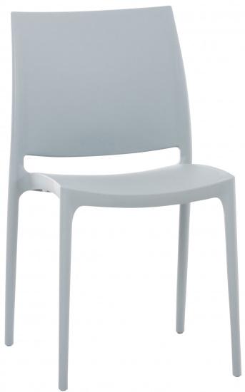 Židle Maya, světle šedá
