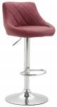 Barová židle Lazio syntetická kůže, červená bordó