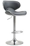 Barová židle Las Vegas V2, šedá
