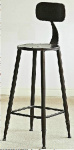 Barová židle Soho, bronzová