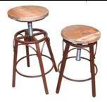 Barová židle Beam, bronzová