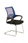 Jídelní / konferenční židle Bonnie, modrá