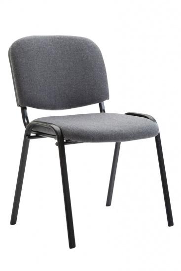 Jídelní / konferenční židle Kenna látkový potah, šedá
