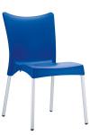 Jídelní / konferenční židle Adana V2, modrá