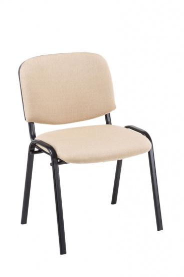 Jídelní / konferenční židle Kenna V2 látkový potah, krémová