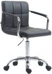 Kancelářská / pracovní židle Lucas V2 syntetická kůže, šedá
