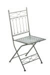 Skládací jídelní / konferenční židle, ASINA, antik-zelená