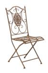 Jídelní / konferenční židle Sibell, antik hnědá