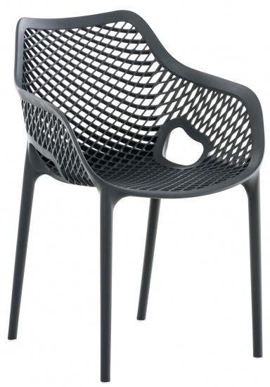 Jídelní / konferenční židle Soufi XL XL, tmavě šedá